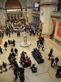 Foyer of The Met, New York
